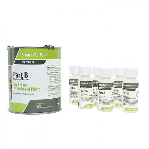 Smart Wall Paint 12 sq. m Coverage White with Primer