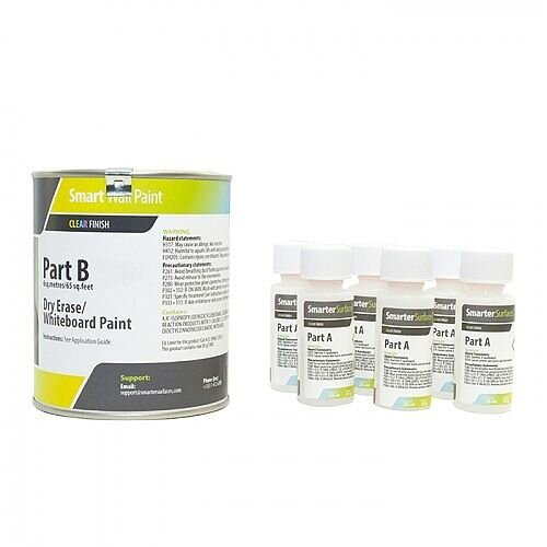 Smart Wall Paint 2 sq. m Coverage Clear with Primer