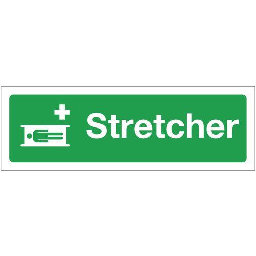 Sign Stretcher 300x100 Rigid Plastic