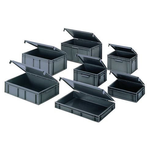 Containers Plastic Standard Box Ext:Lxwxh 400X300X246mm