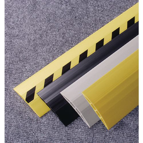 Cable Protector Pvc 3M Length Width:75mm Grey