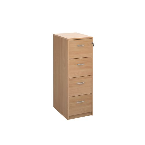 Filing Cabinet 4 Drawer Beech Classic Furniture