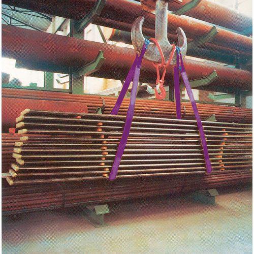 Webbing slings - Duplex strops or - extra metre, SWL 1 ton