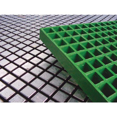 Flooring Fibreglass Gratings Height:38mm 914X3048mm Green