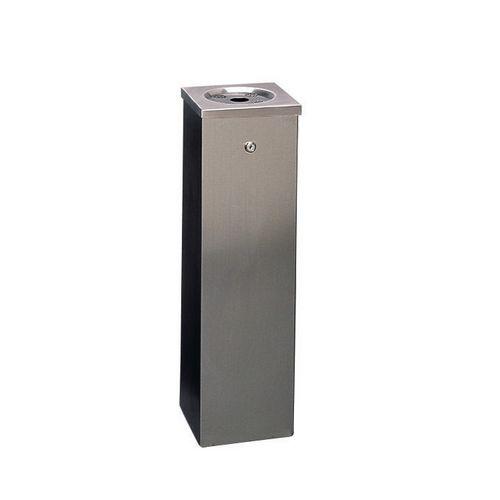Bin Tower Flat Top Black Powder-690X200X200mm