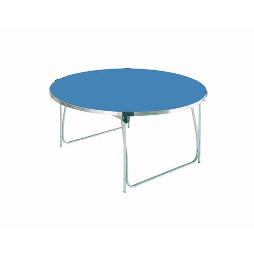 Table Folding Round H:698mm Blue