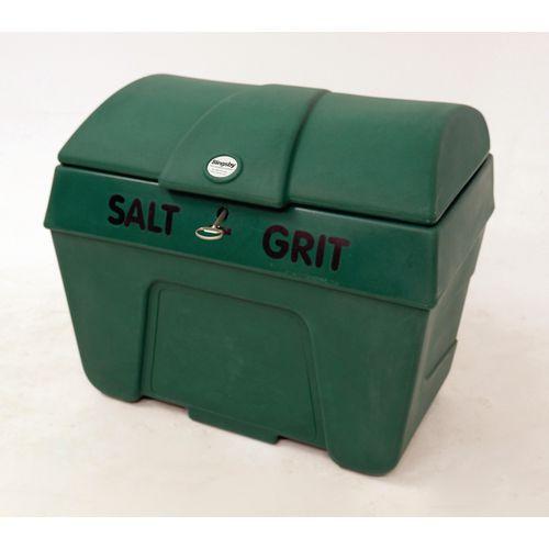 Bin Salt And Grit C/W Lock Without Hopper Dgreen 200L Cap