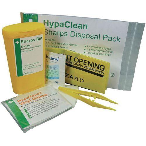 Biohazard Sharps Disposal Unit - Single