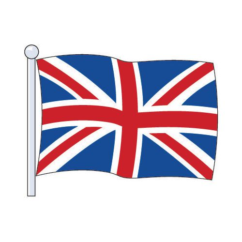 Flag National Union Jack Printed Size Small 1.83Mx0.9M