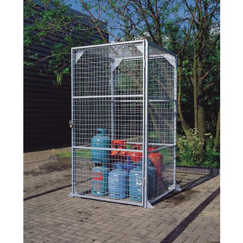 Maxi Box No.1 Wire Storage Painted 2.28x2.25x1.2 Metres