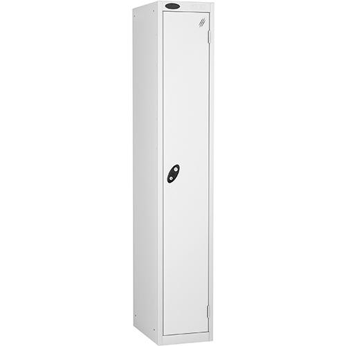1 Door Locker D305mm White Body &White Door