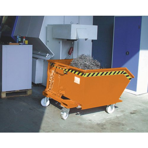 Skip Automatic Tipping Painted 1.0 Cubic Metres