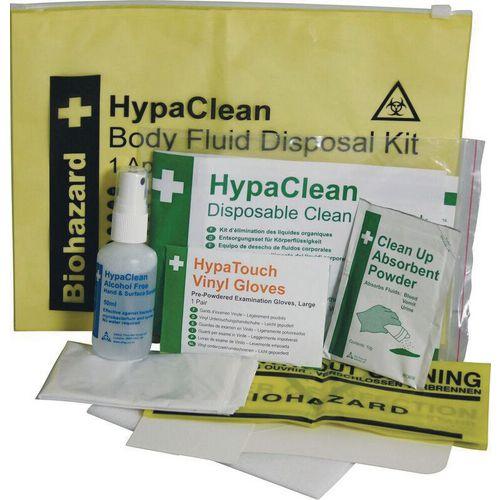 Body Fluid Disposal Kit Single Use