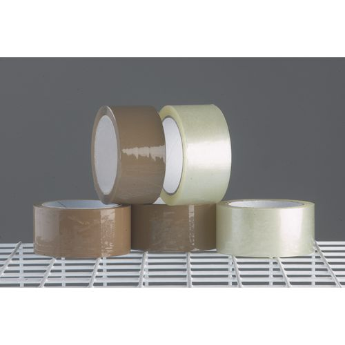 Tape  Polypropylene Clear Roll W:48mm 36 Rolls Carton