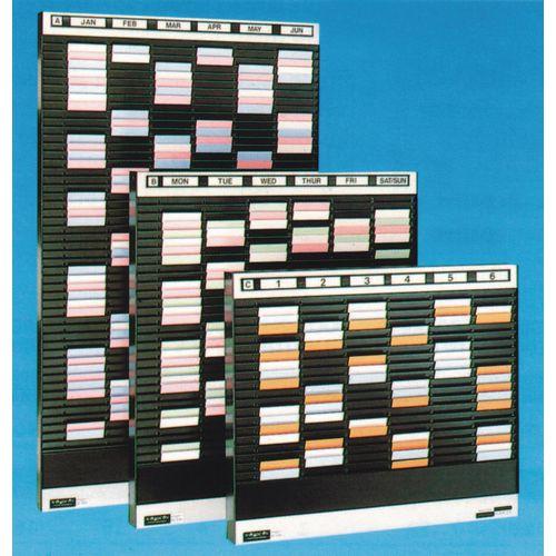 Card Rack HxW 1025x508mm Card Size:A6 200 Pockets