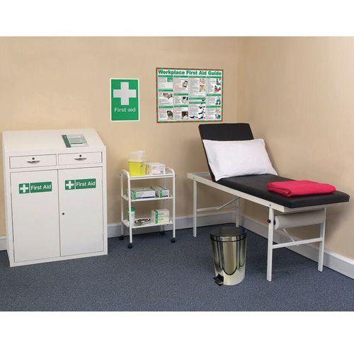 Medical Economy First Aid Room Furniture Bundle Set
