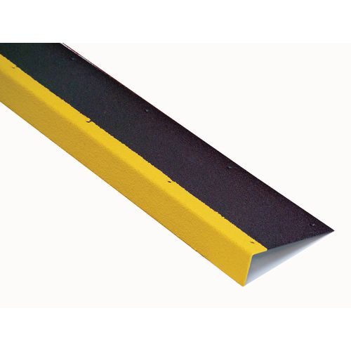 S/S Tread 450x180 +55 Nose Black With Yellow Highlighted Leading Edge (Hle)