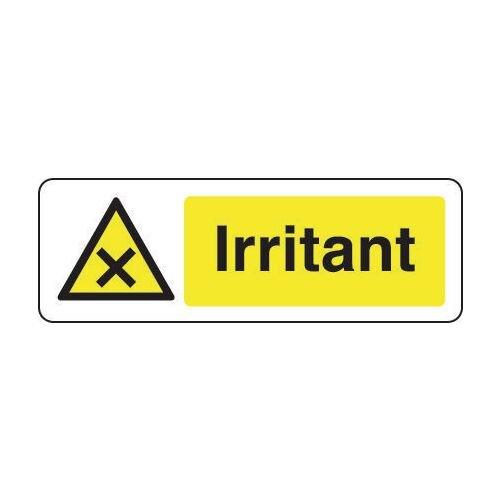 Sign Irritant 400x600 Vinyl