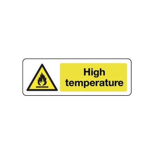 Sign High Temperature Vinyl 300x100