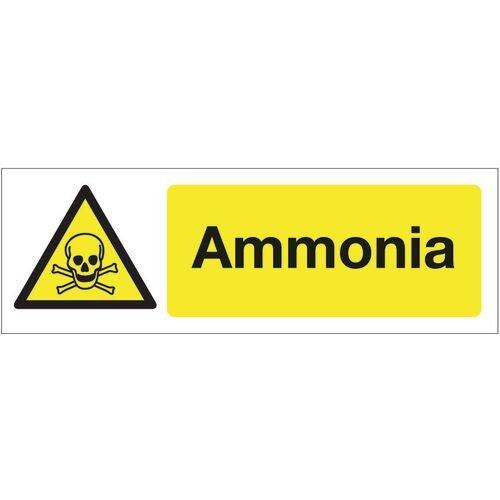Sign Ammonia 600x200 Vinyl