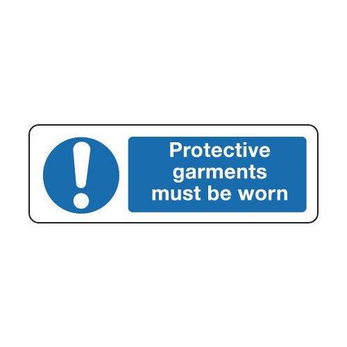 Sign Protective Garments Must 300x100 Vinyl