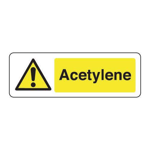 Sign Acetylene 600x200 Vinyl
