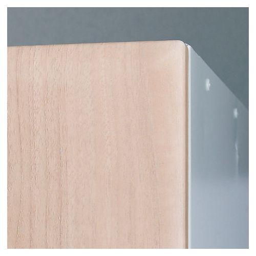 Timber Door End Panel Plain Light 1800x380