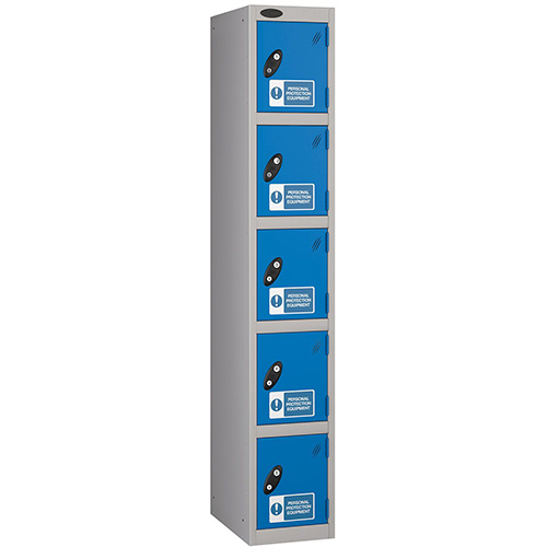 PPE Lockers 5 Compartment 305x305mm