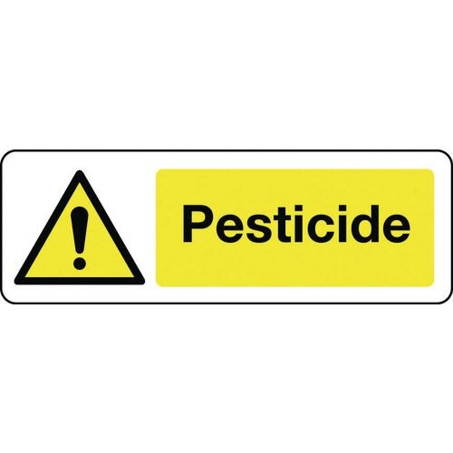 Sign Pesticide 300x100 Vinyl