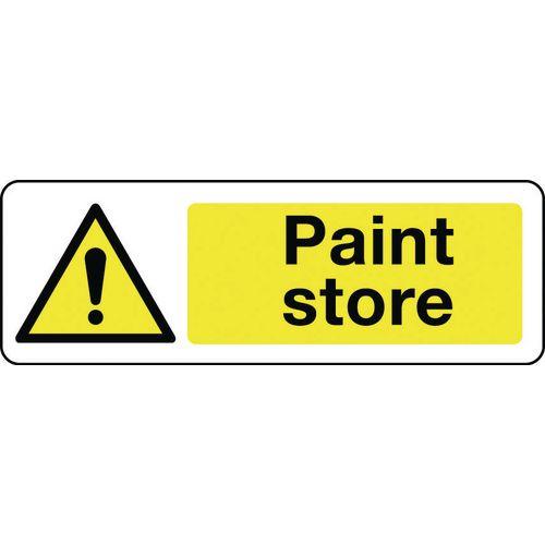 Sign Paint Store 600x200 Vinyl