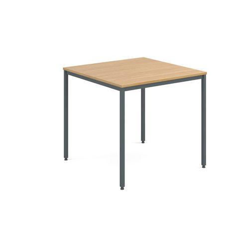 Table  General Purpose Square Square Oak 800X800X725mm