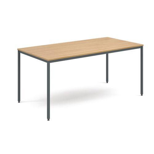 Table  General Purpose Oak Rectangular Oak1600X800X725mm