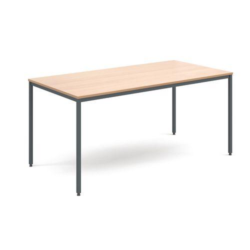 Table  General Purpose Beech Rectangular Beech1600X800X725mm