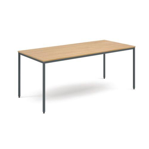 Table  General Purpose Oak Rectangular Oak 1800X800X725mm