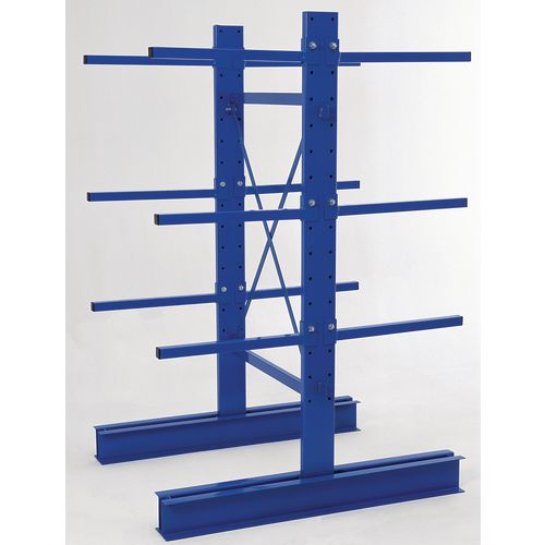 Cantilever Racking Light Duty Double Entry 1000x600 Initial Bay Arm