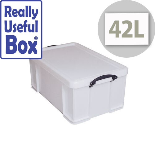 Really Useful Box 42L Extra Strong With Lid