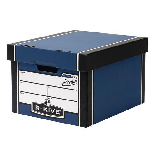 Premium Classic Storage Box Blue HxWxD mm: 257x340x400
