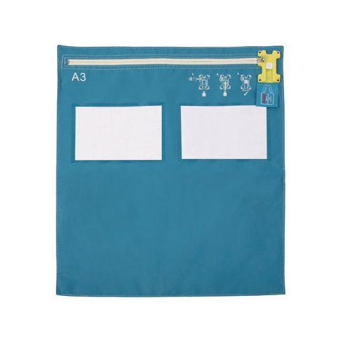 A3 Flat Modular Envopak Blue