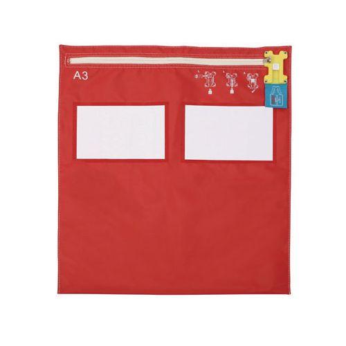 A3 Flat Modular Envopak Red