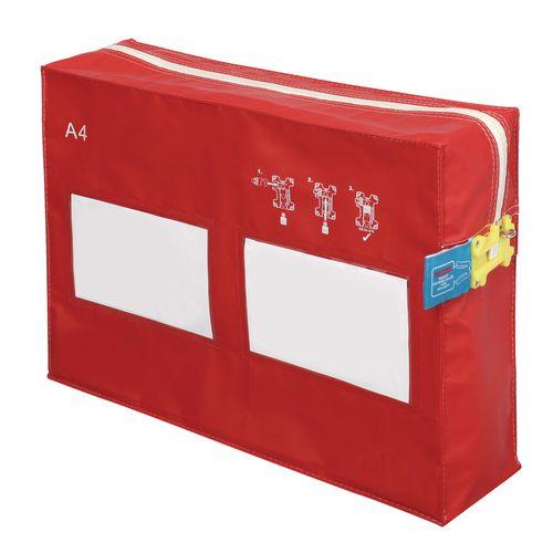 A4 12 Litre Modular Envopak Red