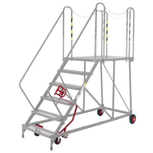 Easy Slope Access Platform 1690mm Galvanised