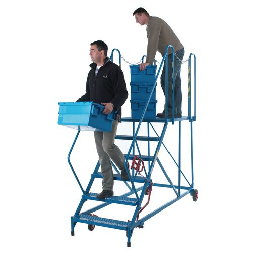 Easy Slope Access Platform 1920mm Blue