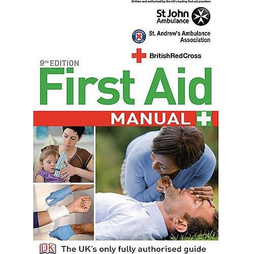 St John Ambulance First Aid Manual 9th Edition Book