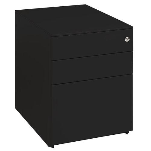 Desk High Ped (2+1) 690H 420W 600D Black