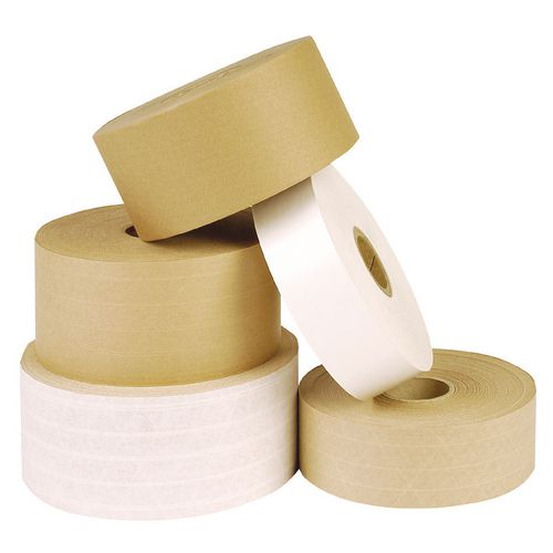Case Of 6 Rolls Of 70mmx152 Mtr Reinforced Standardpaper Tape