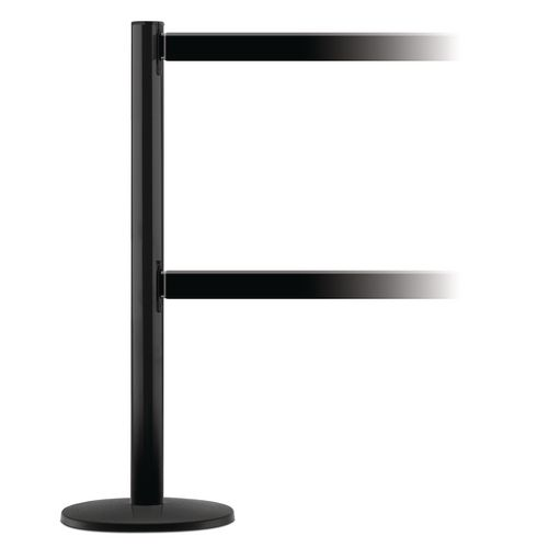 Tensaguide Dual Line Extension Kit  1 Post And 2 Beams  In Black