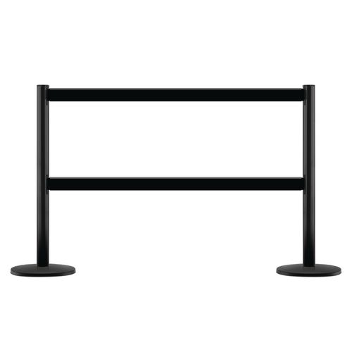 Tensaguide Dual Line Kit  2 Posts And 2 Beams  In Black