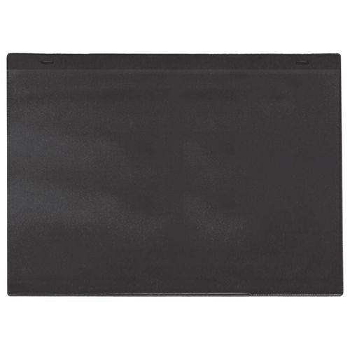 Self-Adhesive Black Document Pocket Id 215X310mm