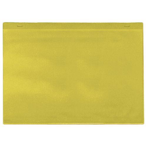 Self-Adhesive Yellow Document Pocket Id 215X310mm