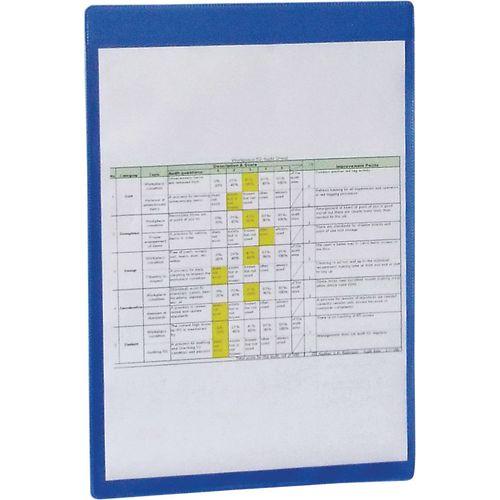Self-Adhesive Blue Document Pocket Id 310X215mm